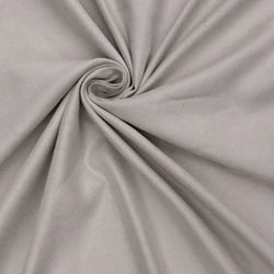 "Microfiber Suede Upholstery Silver Micro fake Faux Drapery Fabric sold by the yard 60"" Wide"