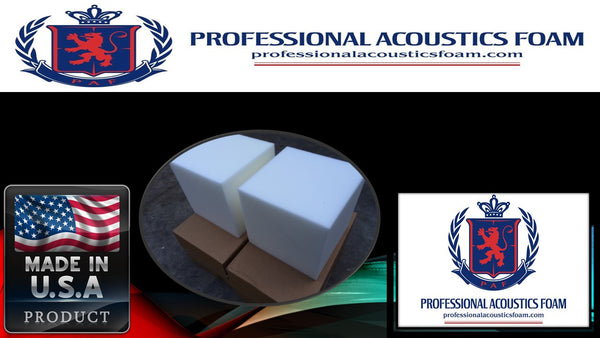 Soundproof Foam Professional acoustic corner fill white cubes. Sold by 2 cubes.