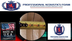 "UPHOLSTERY FOAM Professional Upholstery Foam Padding 1"" Inch (Sold By Continuous Yard )"