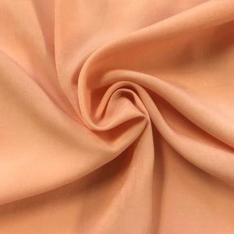 "Peach Skin Fabric By Yard 58"" Polyester Perfect For Blouses, Dresses, Jackets, Suits. Peach"