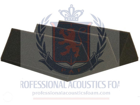 "Soundproof Foam Professional Acoustics Foam 4"" Thick Wedge Style 4ft X 6ft Sheet (24 Sq Ft)"