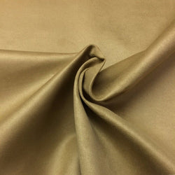 "Microfiber Suede Upholstery Camel/Beige Micro fake Faux Drapery Fabric sold by the yard 60"" Wide"