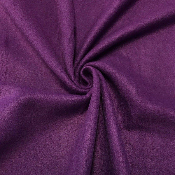 Anti Pill Polar Fleece Solid Sold By The Yard Purple