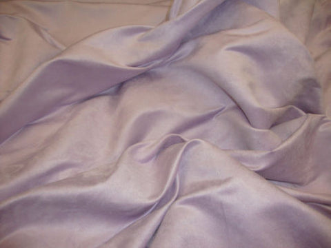 "Suede faux micro 58"" Wide Lavender Polyester upholstery fabric sold by yard"