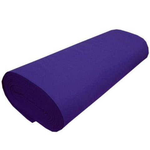"FELT NEEDLE FELTING PRO Solid Acrylic Felt Fabric -PURPLE - Sold By The Bolt - 72"" Width 20 yards"