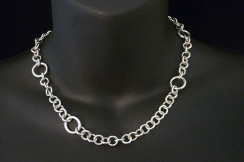 Chain Handmade in Solid Sterling Silver