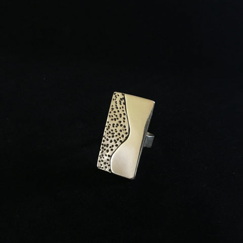 Ring Sterling and Fine silver