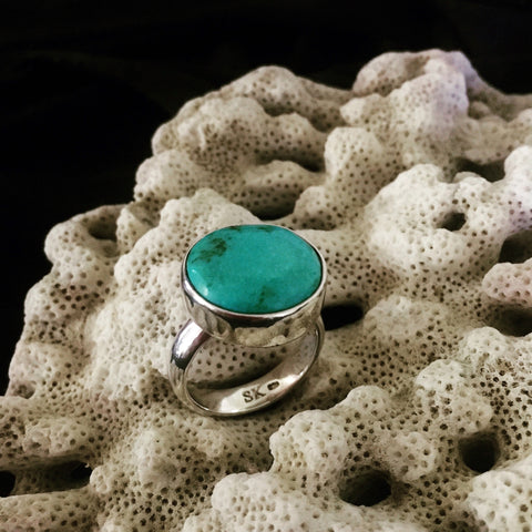 Turquoise & Silver Ring