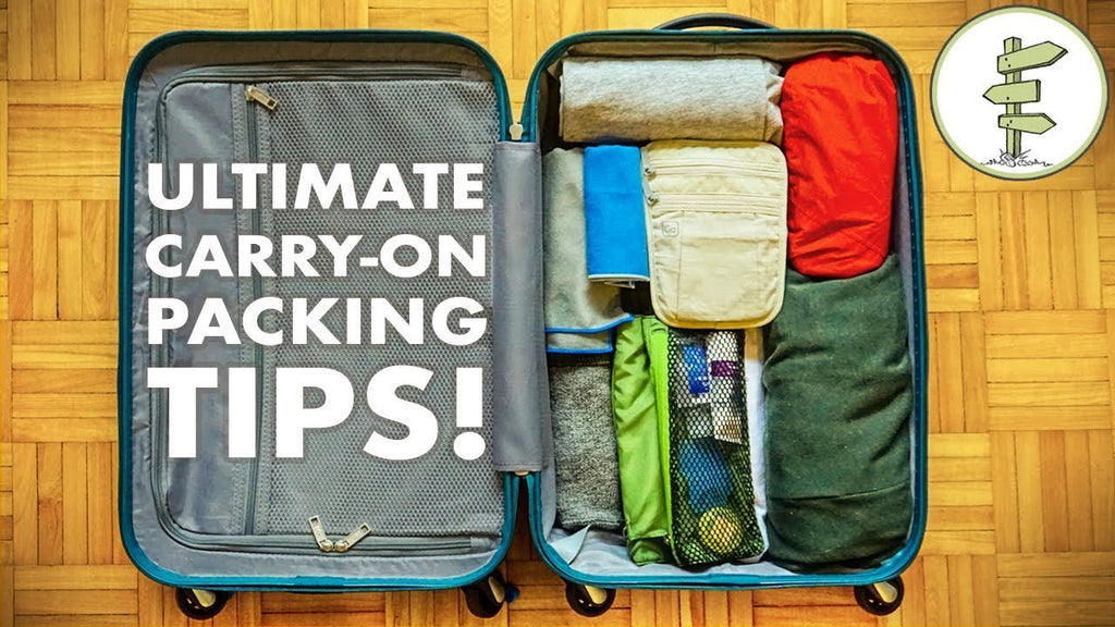 The Essentials To Pack In Your Carry-On Luggage