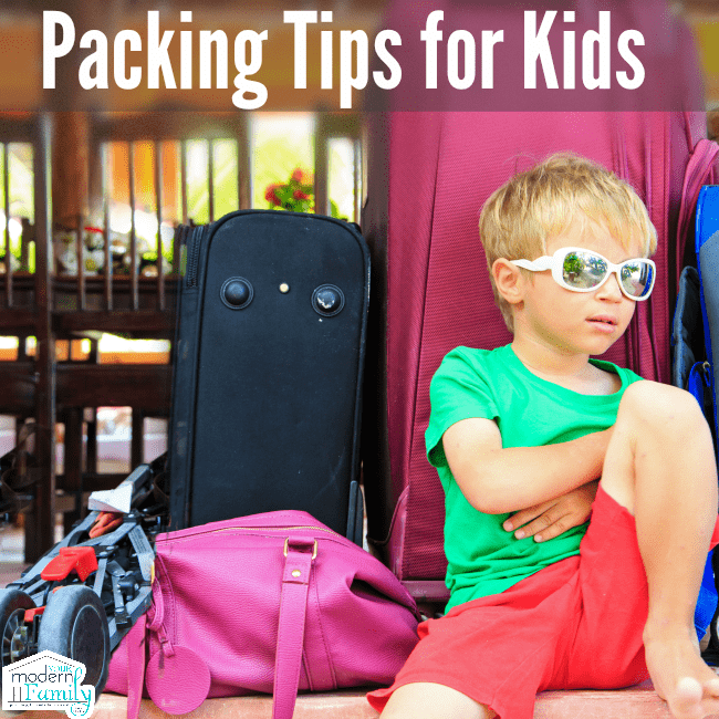Ultimate Tips For Teaching Your Kids To Pack Their Own Luggage