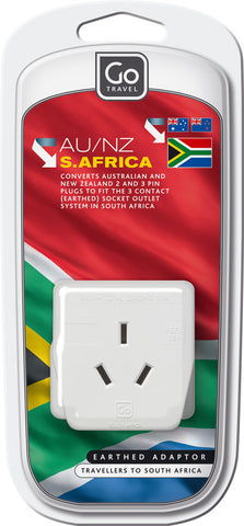 Go Travel South African To Australia/New Zealand Adaptor