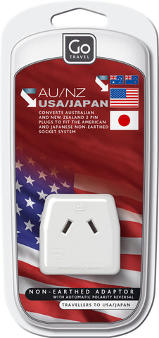 Go Travel USA/Asian adaptor