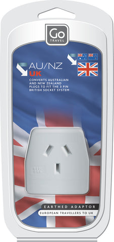 Go Travel British To Australia/New Zealand Converter Adaptor Plug
