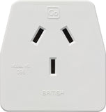 Go Travel British adaptor plug