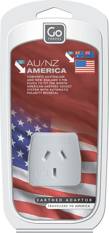 Go Travel American To Australia/New Zealand Adaptor