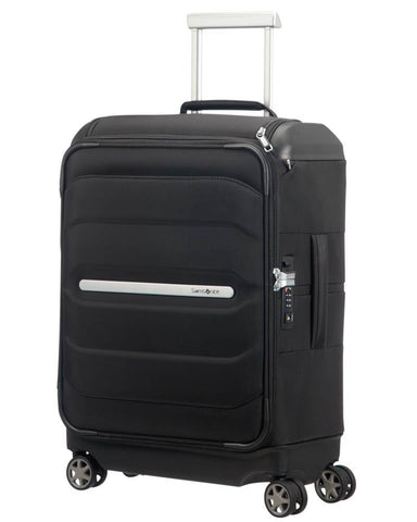 Samsonite Octolite SS Cabin/Carry On 55cm Black Soft Suitcase