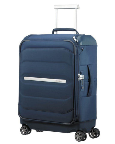 Samsonite Octolite SS Cabin/Carry On 55cm Navy Blue Soft Suitcase