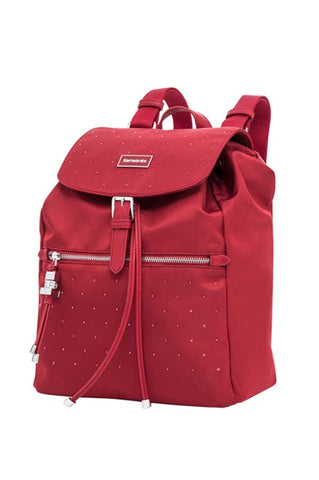 Samsonite Karissa Red Backpack with Swarovski® Crystals