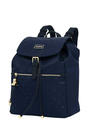Samsonite Karissa Navy Backpack with Swarovski® Crystals