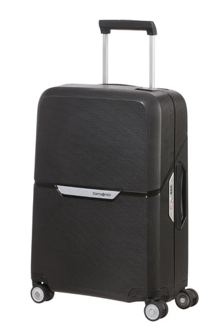 Samsonite Magnum Cabin/Carry On 55cm Black Hard Suitcase