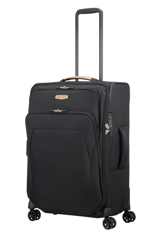 Samsonite Spark SNG ECO Medium 67cm Black Soft Suitcase