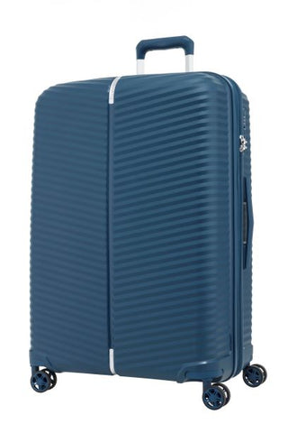 Samsonite Varro Cabin/Carry On 68cm Expandable Peacock Blue Hard Suitcase