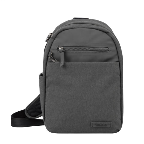 Travelon Anti-Theft Metro Sling Backpack Heather Grey