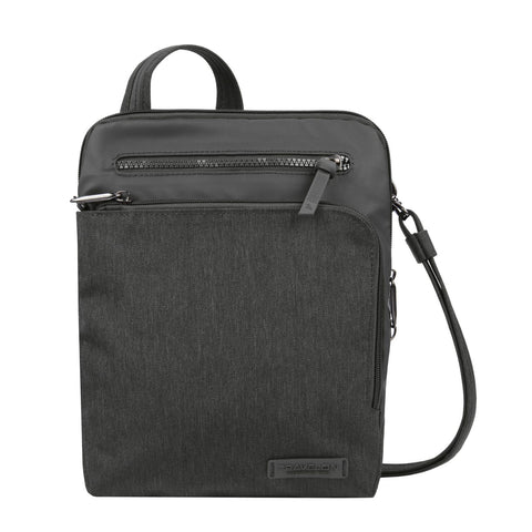 Travelon Anti-Theft Metro N/S Cross Body Bag Heather Grey