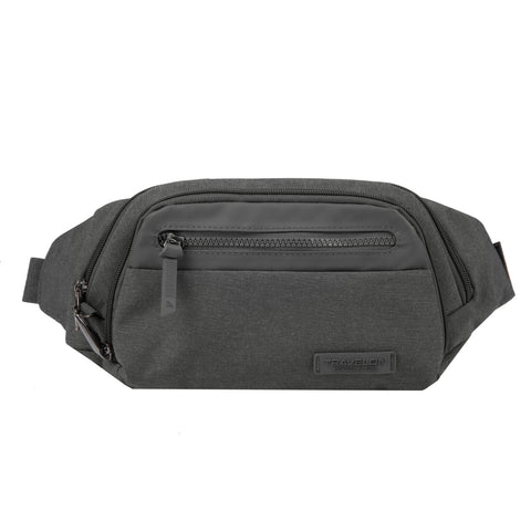 Travelon Anti-Theft Metro Waistpack Heather Grey