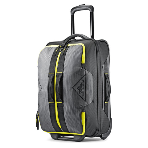 High Sierra Dells Canyon Mercury Black Glow 56cm Wheeled Upright Duffle