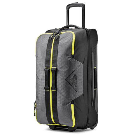 High Sierra Dells Canyon Mercury Black Glow 86cm Wheeled Upright Duffle
