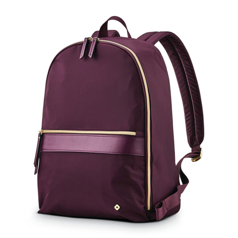 "Samsonite Ladies Mobile Solution 14.1"" Backpack Damson Purple"