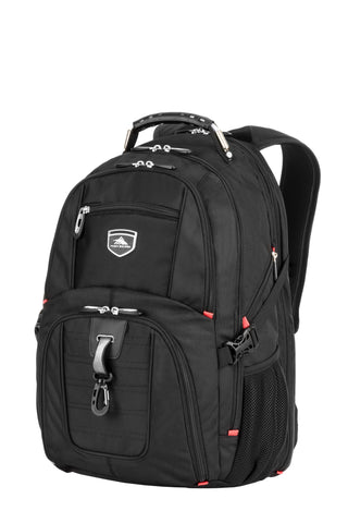 "High Sierra Lisbon 15"" Laptop Black Backpack"