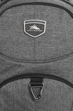 "High Sierra Sussex 15"" Laptop Heather Grey Backpack"