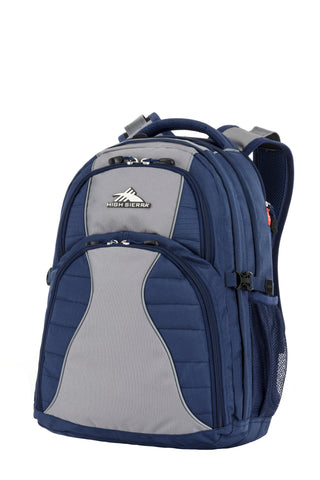 "High Sierra Reverb 15"" Laptop Navy/Grey Backpack"