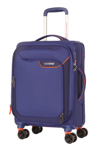 American Tourister Applite 4.0 Security Cabin/Carry On 55cm Bordego Blue Suitcase