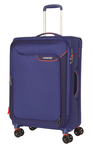 American Tourister Applite 4.0 Security Medium 71cm Bordego Blue Suitcase