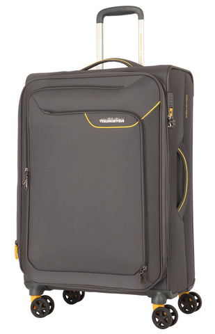 American Tourister Applite 4.0 Security Medium 71cm Lightning Grey Suitcase