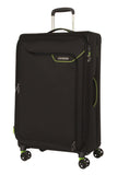 American Tourister Applite 4.0 Security Large 82cm Black/Green Suitcase
