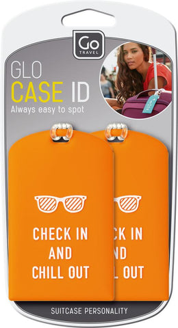 Go Travel Glo Case ID Tags Various Colours