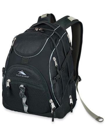 "High Sierra access 17"" laptop Backpack Black"
