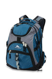 "High Sierra Access 17"" Laptop Navy/Grey Backpack"