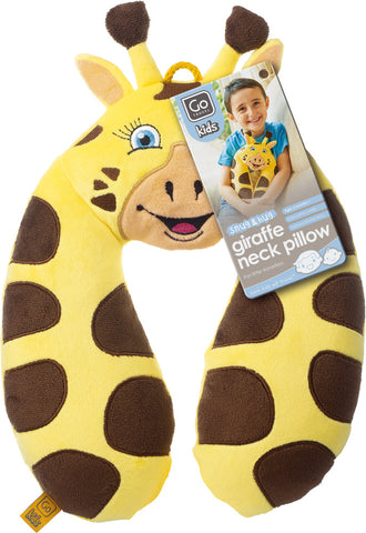 Go Travel Kids Giraffe Neck Pillow