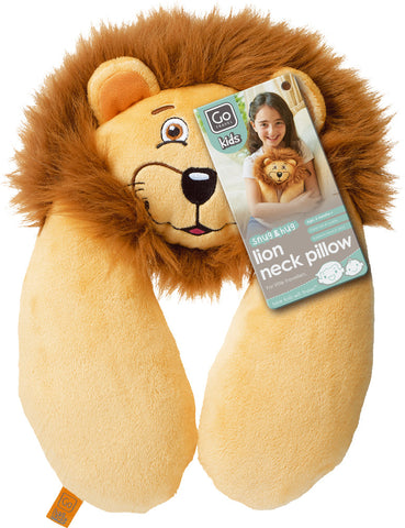 Go Travel Kids Lion Neck Pillow