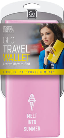 Go Travel Wallet Various Colours