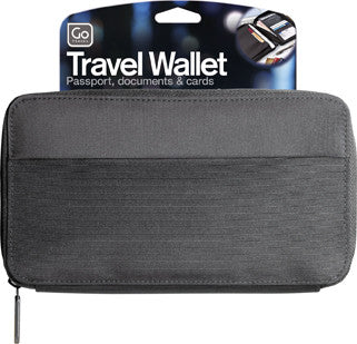 Go Travel Black Organiser Wallet
