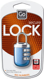 Go Travel Secure Lock Big Numbers