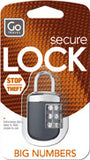 Go Travel Big Wheel Padlock