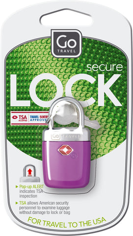 Go Travel Sentry Alert Locks Various Colours