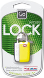 Go Travel Secure Lock Sentry Yellow